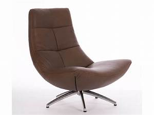 Moderne design draai fauteuil rotterdam leer for Fauteuil design moderne