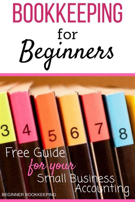 bookkeeping guide  beginners