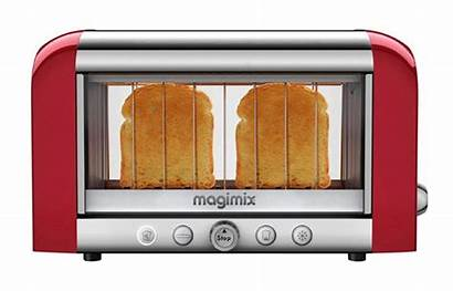 Toaster Toasters Magimix Glass Vision Chrome Pain