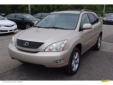metallic lexus 2007 savannah beige metallic lexus rx 350 113061875 photo