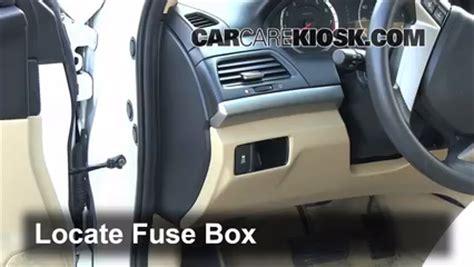 1999 Acura Cl V6 Fuse Box by Interior Fuse Box Location 2008 2012 Honda Accord 2011
