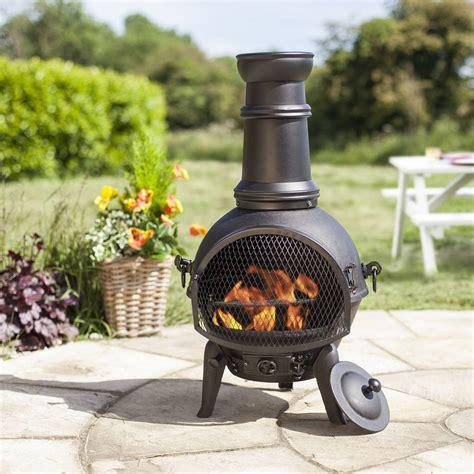 cast iron patio chiminea chiminea outdoor patio heater chimeneas bbq grill log