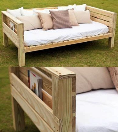 great southern wood preserving yellawood daybed build   regard  diy outdoor