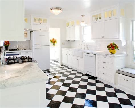 black and white kitchen floor ideas nuance with black and white linoleum flooring 9276