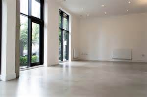 residential polished concrete flooring poured resin and