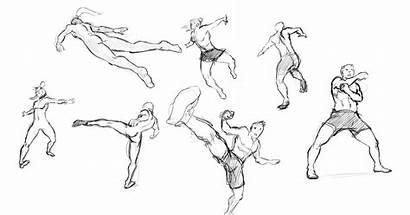 Pose Dynamiques Dynamique Poses Etude