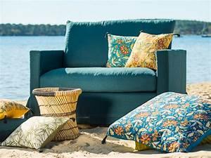 Deco Jaune Moutarde : d co jaune et bleu une maison couleur t joli place ~ Melissatoandfro.com Idées de Décoration