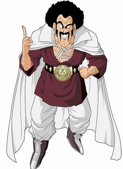 Dragon Ball Satan Mr Anime Bolitas Manga