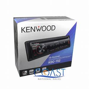 Kenwood Kdc-152  Mp3  Wma With Front Aux Input Single