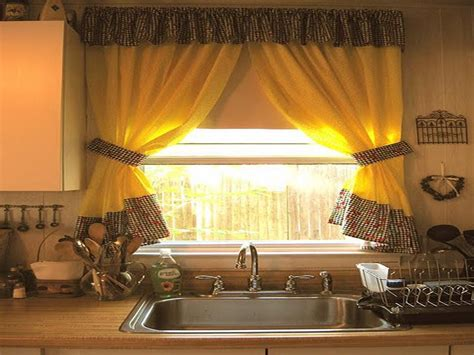 curtain ideas for kitchen windows kitchen curtain ideas for large windows home design