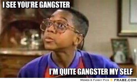 Gangster Baby Meme - i see you re gangster meme generator captionator