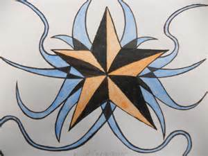 Ninja Star Drawing