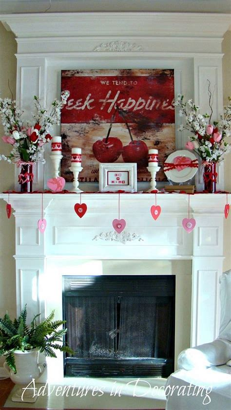 valentines day mantel 1000 images about valentine s day mantels on pinterest mantels valentines and mantles