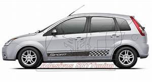 Adesivo Faixa Lateral Fiesta Acess U00f3rios Tuning Kit Sport