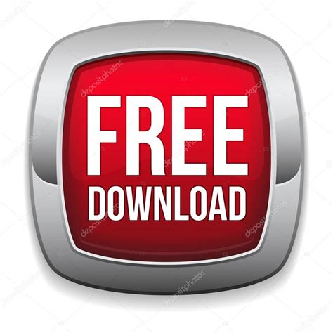 Big Red Square Free Download Button