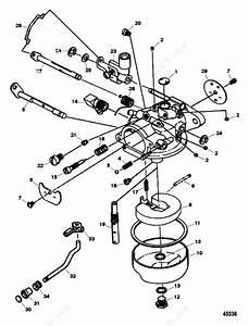 Mercury Force 9 9 H P  1997  Carburetor 15 Hp Model 1300