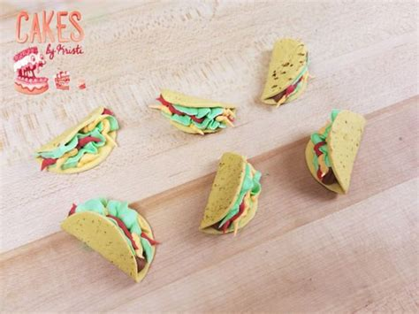 taco cupcake toppers set     order birthday