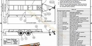2500kg tilt flatbed trailer plans With enclosed cargo trailers as well tandem axle trailer wiring diagram