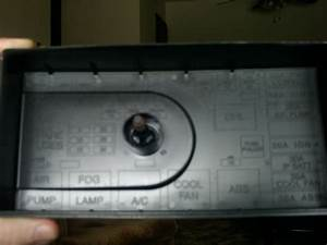 2000 Saturn  Fuse Box  The Fuse For The Wipers Would Be  I