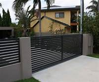 fence gate design 21 Home Fence Design Ideas | T'wan François - 1st | Modern fence design, Fence, Modern fence