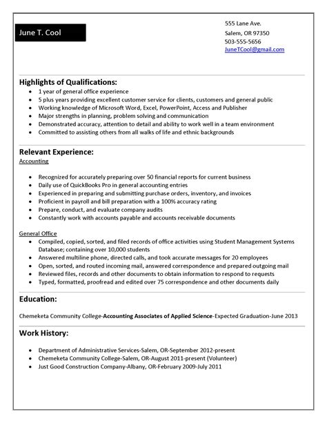 General Resume For All by Free Resume Template Website Free Resume Sles U0026
