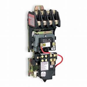 Square D Lighting Magnetic Contactor  277vac Coil Volts
