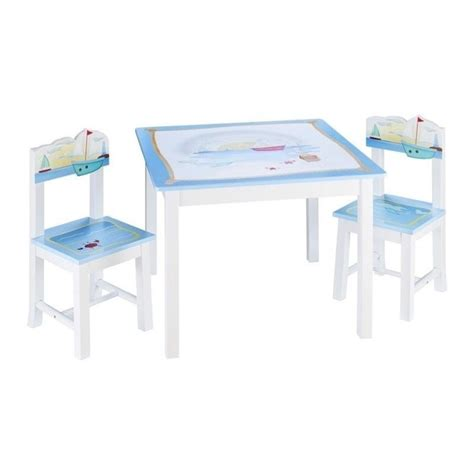 guidecraft table and chairs set in multi color g88202