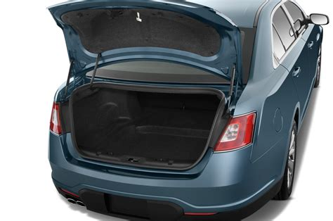 Trunk Space by 2010 Ford Taurus Reviews And Rating Motor Trend
