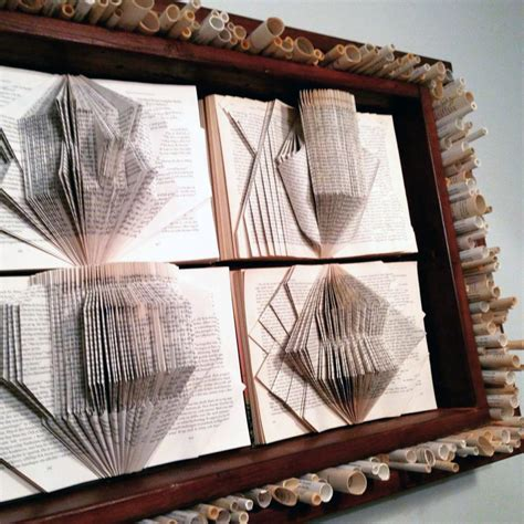 recycled book art recreate design company
