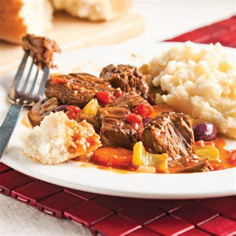 recette cuisine provencale casserole de boeuf braisé à la provençale recettes