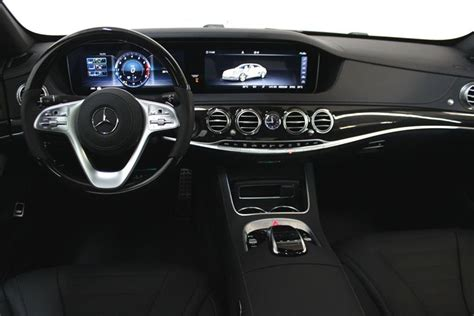 Features include standard heated seats and armrests, wireless phone charging, and rearview camera. New 2020 Mercedes-Benz S560 4MATIC Sedan (LWB) 4-Door Sedan in Nanaimo #151250 | Mercedes-Benz ...