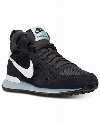 Sneakers Mid Casual Internationalist Womens Line Finish