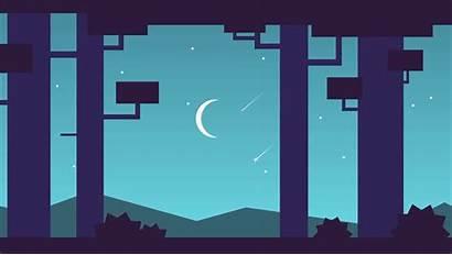 Github Nightsky Css Animation Transparent Moving Demo