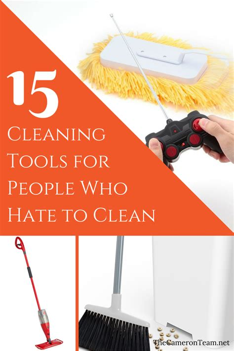 cleaning tools  people  hate  clean