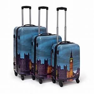 Hartschalenkoffer Set Test : relaxdays set 3 valige da viaggio materiale plastico e ~ Orissabook.com Haus und Dekorationen