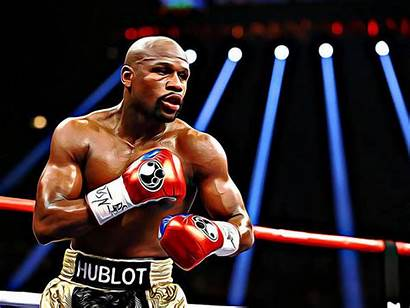 Mayweather Floyd Poster Queso Espinosa Jr Artist