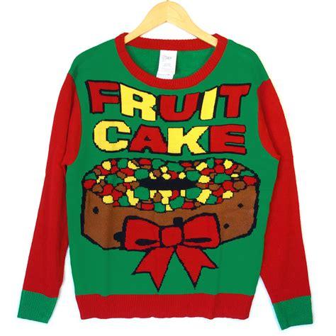 tacky sweater fruitcake tacky sweater the sweater shop