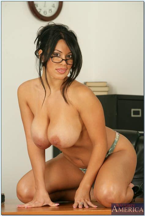 Latin Milf Teacher Sienna West Fondling Huge Tits 9563