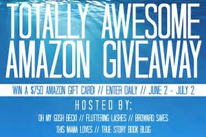 Totally Awesome $750 Amazon Gift Card #Giveaway! - Mommies ...