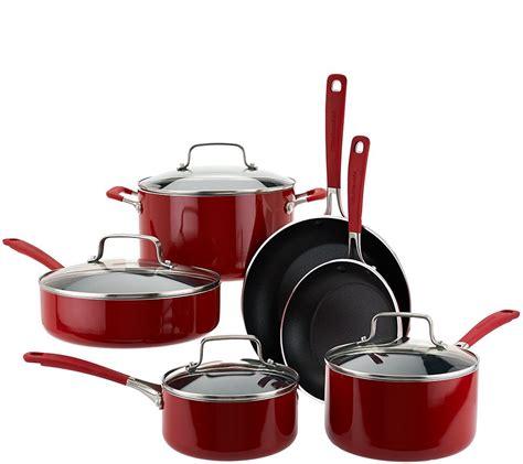 kitchenaid  piece aluminum nonstick cookware set page