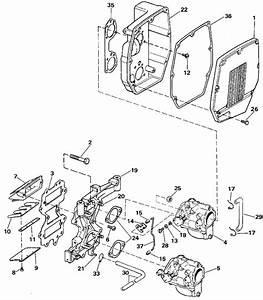 Intake Manifold Parts For 1990 48hp E48eslesa Outboard Motor