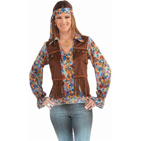 hippie sweaters funky 60 39 s 70 39 s hippie multicoloured shirt vest and