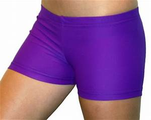 Bright Neon Purple 2 5 inch Inseam Spandex pression