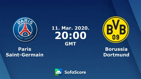 Paris Saint-Germain Borussia Dortmund résultats en direct ...