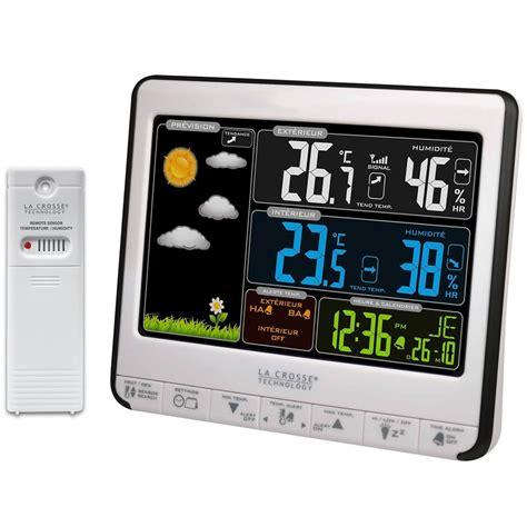 la crosse technology ws6826whi bla station m 233 t 233 o la crosse technology sur ldlc