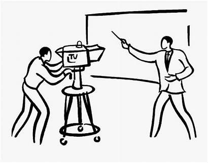 Clipart Broadcast Television Transparent Reporter Studio Cameraman