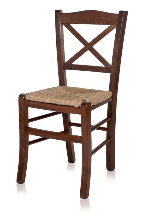 chaises en paille mu83 chaise rustique en bois différentes teintes