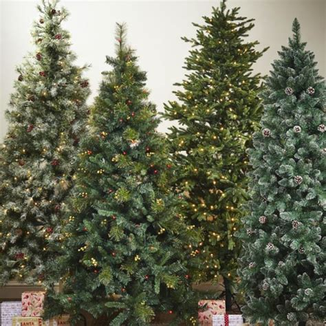 b and q artificial christmas trees traditional trees decorations diy at b q