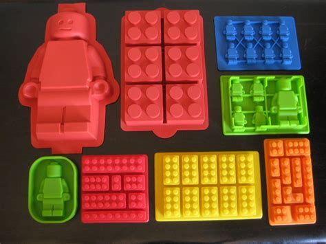 Amazon.com: Make Lego Minifigure and Bricks Silicone Cake