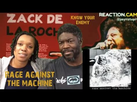 Rage against the Machine | Know your Enemy |Reaction - YouTube